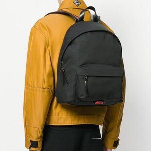GIVENCHY black backpack signature star strap